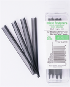 Microstitch Fasteners Refill Pack - Black